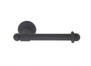 EMTEK_WROUGHT-STEEL-BAR-STYLE-PAPER-HOLDER-WITH-TYPE-2-ROSETTE_FINISH-IN-FLAT-BLACK_-8-1-8-in.-LENGTH_2503