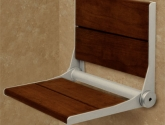 healthcraft_invisia-collection-serenaseat-fold-down-shower-seat_braziliain-walnut-panels_brushed-aluminum-frame_cap-500-lb