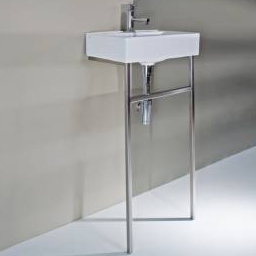 Stainless Steel Sink Stand : PEDESTAL SINK STAND