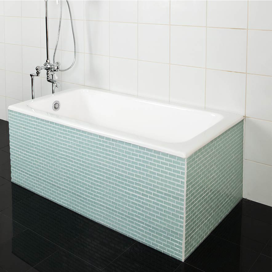 Exelent tile bathtubs pictures bathtub ideas for Built in tub dimensions