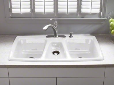 Triple Bowl Kitchen Sinks Kitchen sinks westside bath westwood los angeles ca kohler trieste top mount triple bowl kitchen sink workwithnaturefo
