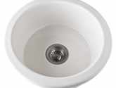rohl-allia-fireclay-round-single-prep-sink-in-pergame-finish-6737
