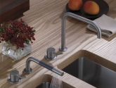 vola-one-handle-mixer-with-medium-lever-with-handshower-and-one-handle-mixer-and-double-swivel-spout-500mt1-590m