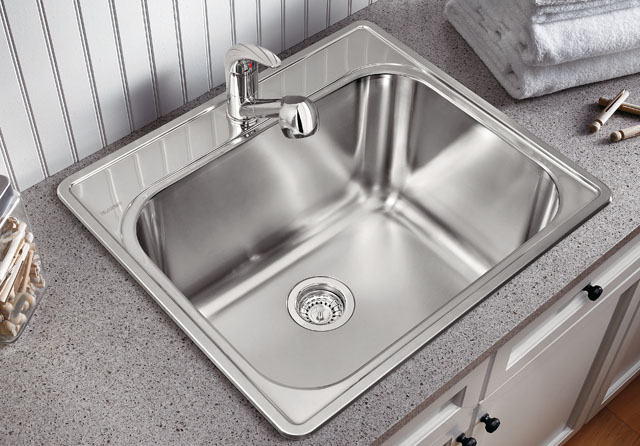 Laundry Room Sinks Stainless Steel : Utility Laundry Sink Westside Bath Los Angeles, Ca