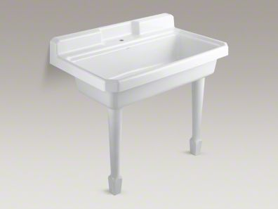 KOHLER HARBORVIEW TOP MOUNT OR WALL MOUNT UTILITY SINK