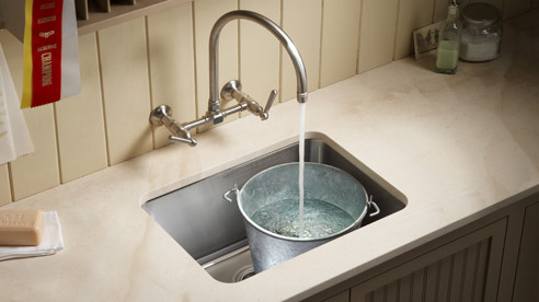 Laundry Room Undermount Sinks : KOHLER UNDERTONE UTILITY SINK UNDERMOUNT IN STAINLESS STEEL