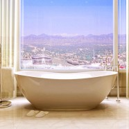 Freestanding composite stone bathtubs by TYRRELL & LAING